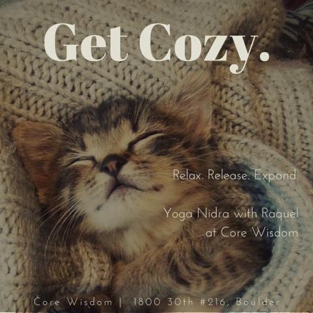 Get Cozy. (1)