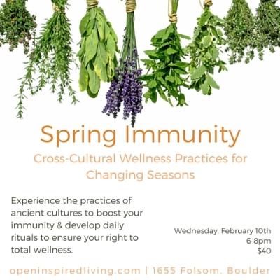 Spring Immunity
