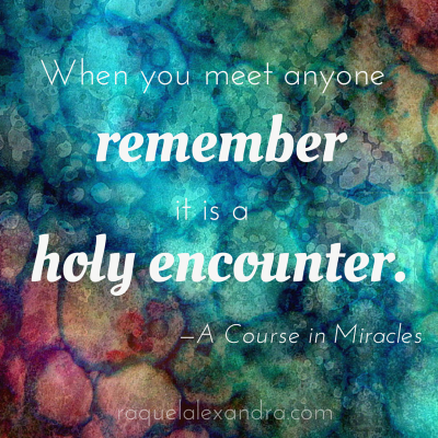 Holy Encounter raquelalexandra.com