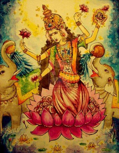 lakshmi goddess raquel alexandra